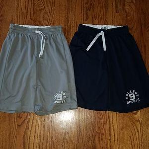 2 pair Children's place athletic shorts M 7 8